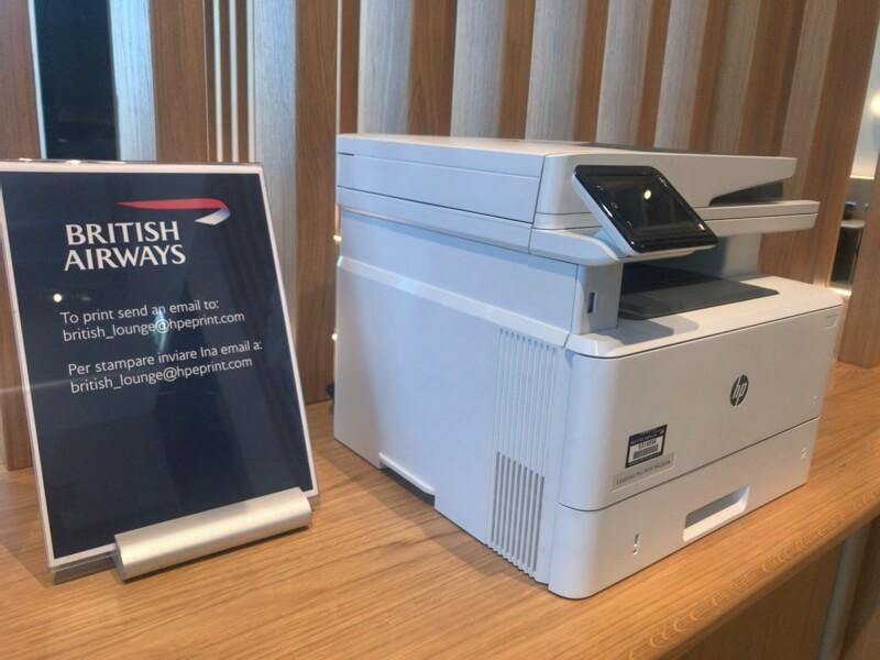 British Airways Lounge  รีวิว