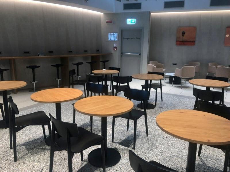 British Airways Lounge  Rome รีวิว