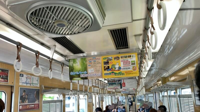 การขึ้นรถไฟญี่ปุ่น