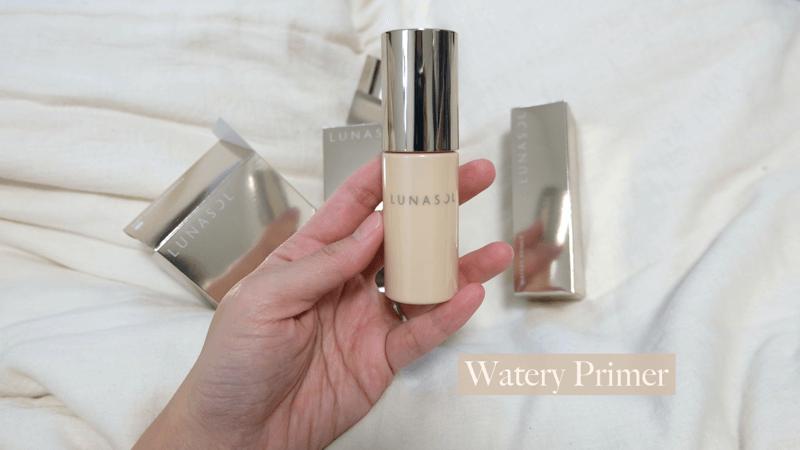 รีวิว watery Primer Lunasol