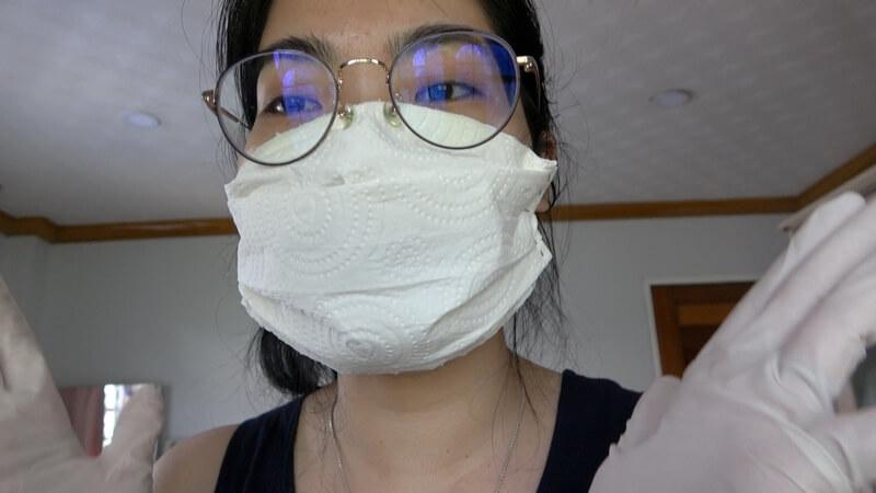วิธีทำหน้ากากอนามัยจากกระดาษ