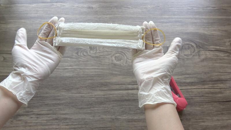 วิธีทำหน้ากากอนามัยจากกระดาษทิชชู่